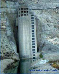 Seven Oaks Dam Intake Tower, CA
